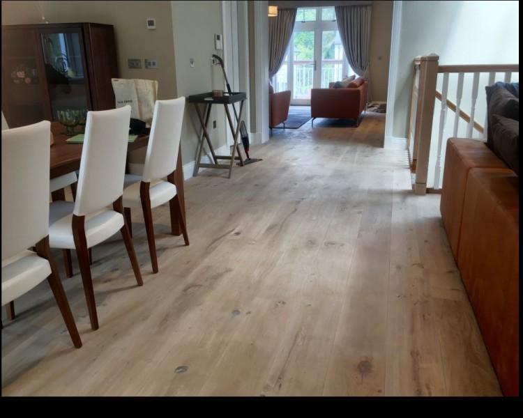 Ohio Oak White Oiled 220mm Character Grade 1219 Sligo Wood Flooring
